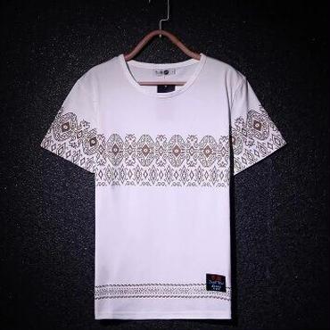 ハイセンスデザインTシャツ★2色★半袖★個性派モード★【送料無料】