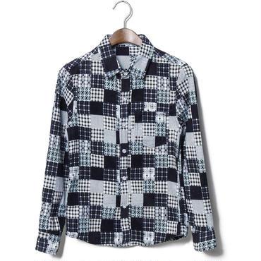 ネルシャツ★チェック柄×ハイセンス★2色★長袖★【送料無料】