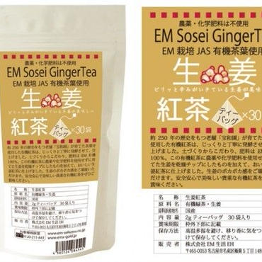 EMオーガニック生姜紅茶(ティーバック)2g×30袋