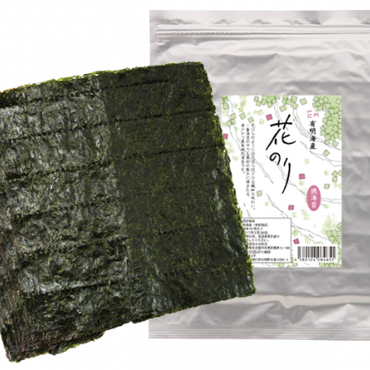 EM花のり海苔全形10枚×5パック 有明海産