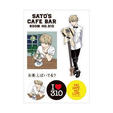 Sato's Cafe Bar ステッカーシート