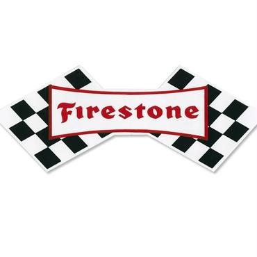 ホットロッド ステッカー Firestone ステッカー DZ271