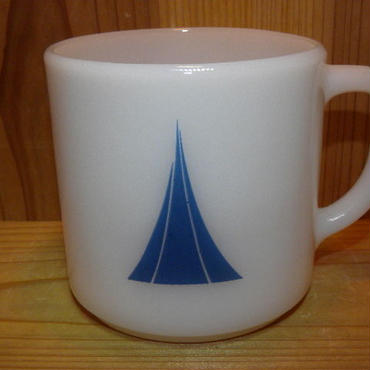 ミルクガラス FEDERAL This Cup Blongs To