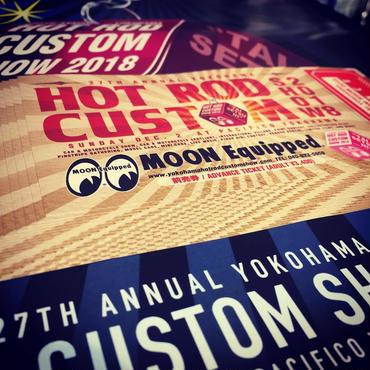 7th Annual Yokohama HOT ROD CUSTOM SHOW 2018 前売りチケット