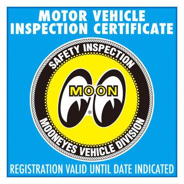 MOONEYES K-Car JCI ステッカー (平成26年1月以降) DM198