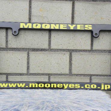 ムーンアイズ ライセンス フレーム www.mooneyes.co.jp イエロー MG060BKMO