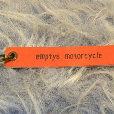 empty's motorcycle オリジナル キーリング