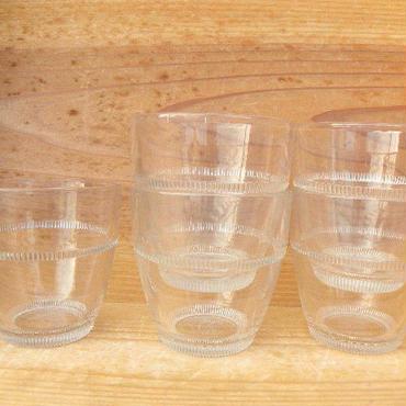 HOYA VIGOLASS スタッキンググラス 強化ガラス 5個セット 小