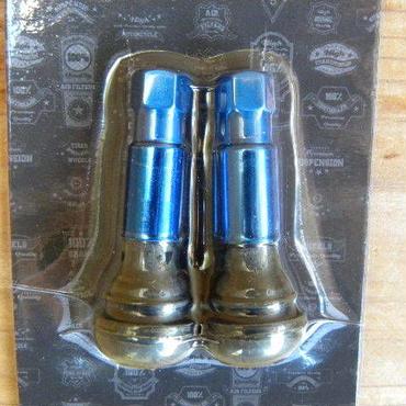 アルミチューブレスバルブ ブルー