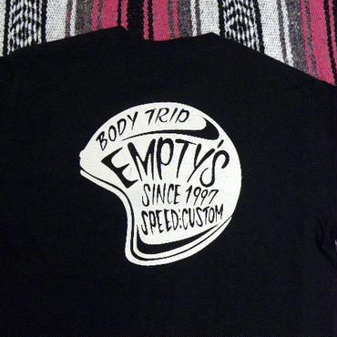 エンプティーズ オリジナルTシャツ Sサイズ  ヘルメット ブラック