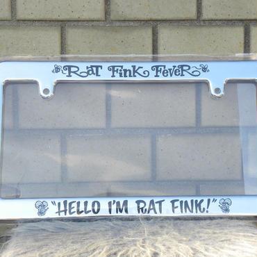 """ラットフィンク ライセンスフレーム """"HELLO I'M RAT FINK!"""" RAF260CHHE"""