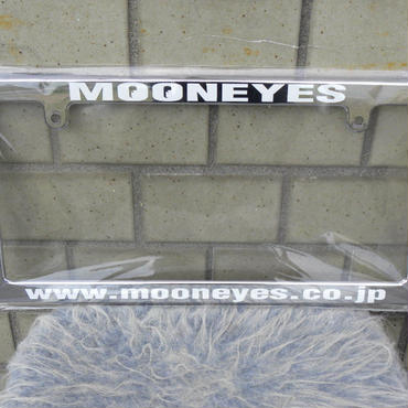 MOONEYES オリジナル ライセンスフレーム MG060CHMO