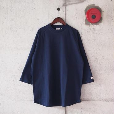 Goodwear〈グッドウェア〉 U.S.A COTTON 7分袖 T-Shirts NAVY
