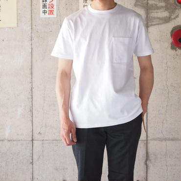 Goodwear〈グッドウェア〉 U.S.A COTTON  REGULAR FIT T-Shirts WHITE