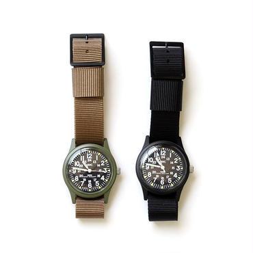 MWC〈ミリタリーウォッチカンパニー〉  Classic Range Quartz Watch (W-113QTZ) OLIVE