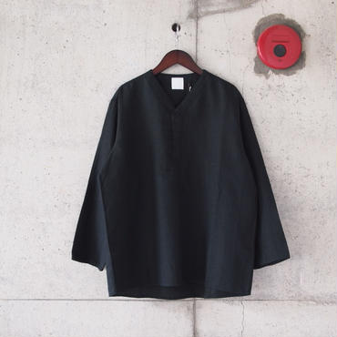 【unisex】5W〈ゴワット〉Juban - Linen BLACK