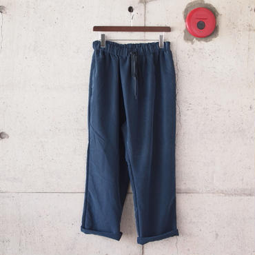 Manual Alphabet〈マニュアルアルファベット〉 SMOOTH THAI PANTS NAVY