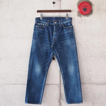 【unisex】Ordinary fits〈オーディナリーフィッツ〉 5POCKET ANKLE DENIM used  2YEAR