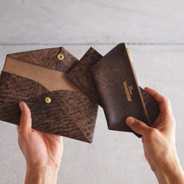 Dono〈ドーノ〉 ENVELOPE LONG  WALLET CHOCO