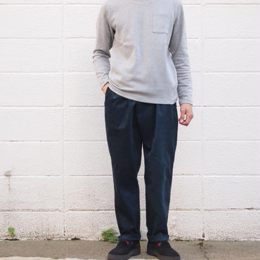 Manual Alphabet〈マニュアルアルファベット〉CORDUROY THAI PANTS NAVY