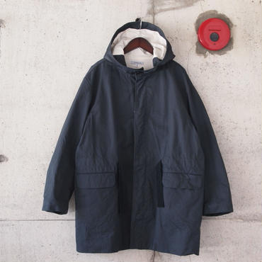 【unisex】Ordinary fits〈オーディナリーフィッツ〉 FOOD COAT - PERCY twill INK BLACK