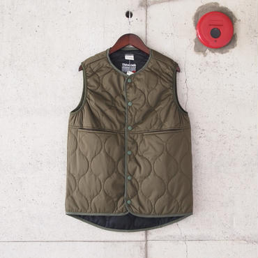 【unisex】 SUNNY SPORTS〈サニースポーツ〉 LEVEL5 SOFT SHELL VEST OLIVE