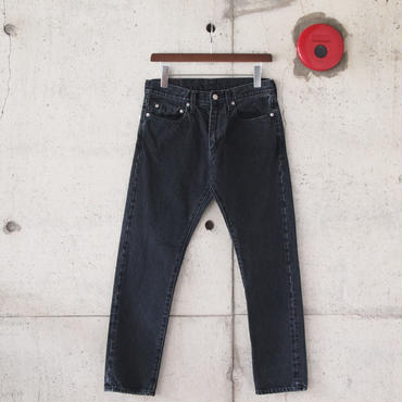 Manual Alphabet〈マニュアルアルファベット〉 SULFUR DYES DENIM BLACK