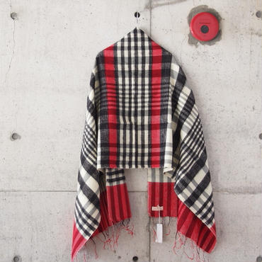 hint hint〈ヒントヒント〉  STOLE (21) BLACK×RED