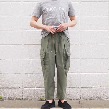 Manual Alphabet〈マニュアルアルファベット〉 COMMAND NEP CARGO PANTS KHAKI