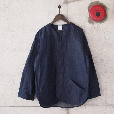 【unisex】5W〈ゴワット〉  Goun - Cottonlinen 8oz denim INDIGO