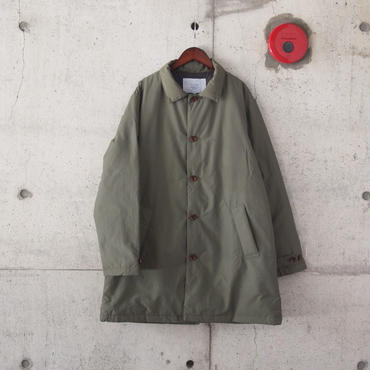 have a good day〈ハブアグッデイ〉 SOUTIEN COLLAR DOWN COAT KHAKI