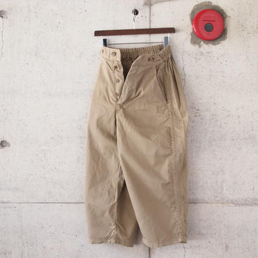 【women】Ordinary fits〈オーディナリーフィッツ〉 BALL PANTS 2 BEIGE