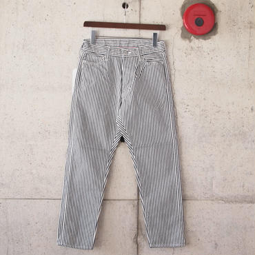 【unisex】Ordinary fits〈オーディナリーフィッツ〉 5POCKET ANKLE DENIM hickory (OM-P020HK) HICKORY
