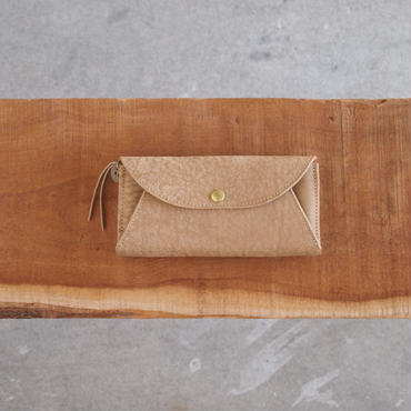 Dono〈ドーノ〉 LONG MAIL WALLET TAUPE