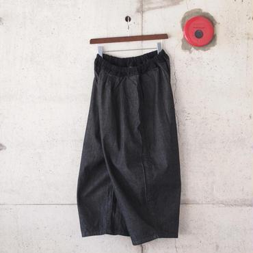 【women】Ordinary fits〈オーディナリーフィッツ〉 BALL PANTS denim BLACK