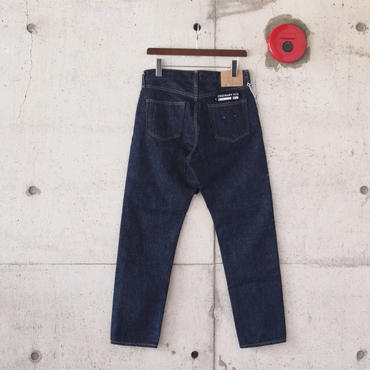 【unisex】Ordinary fits〈オーディナリーフィッツ〉 NEW ROOL UP 5P DENIM one wash INDIGO