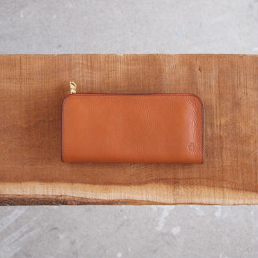 Dono〈ドーノ〉 LONG ZIP WALLET BROWN/YELLOW/BLACK