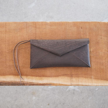 Dono〈ドーノ〉 PACKAGE LONG WALLET CHOCO