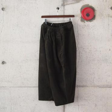 【women】Ordinary fits〈オーディナリーフィッツ〉 BALL PANTS  corduroy KHAKI