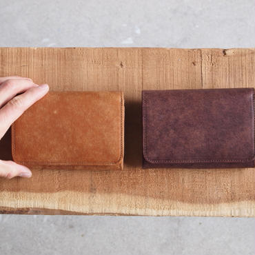 Esperanto〈エスペラント〉 PUEBLO MIDDLE WALLET GREY/CAMEL/BROWN