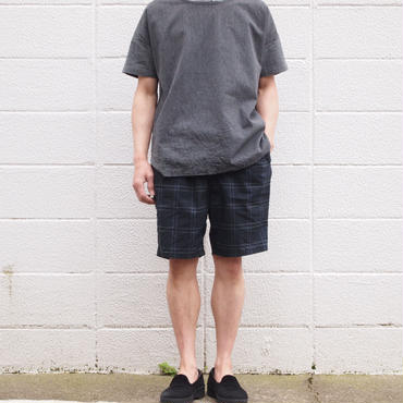 【unisex】Ordinary fits〈オーディナリーフィッツ〉 TRAVEL SHORTS rip-stop BLACK