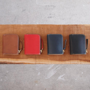 ART BROWN〈アートブラウン〉 ブルガノレザー MINI WALLET BROWN/RED/NAVY/BLACK