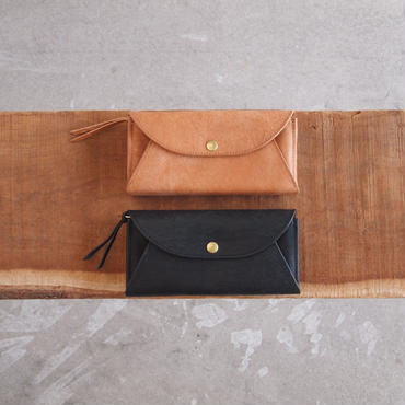 Dono〈ドーノ〉 LONG MAIL WALLET NUME/BROWN/CHOCO/BLACK
