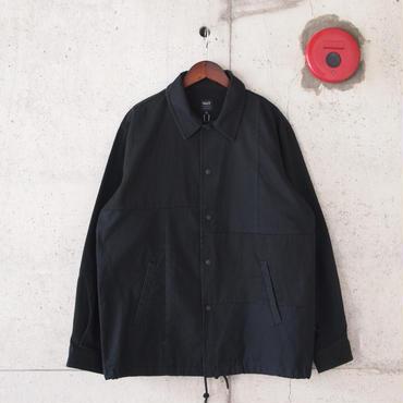 M&S〈エムアンドエス〉 コーチジャケット BLACK
