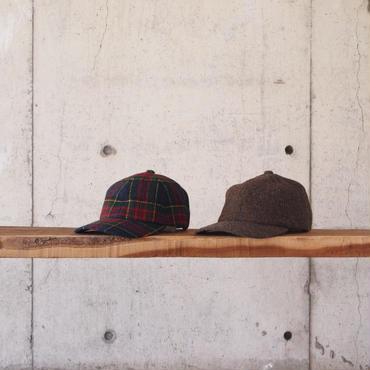 morno〈モーノ〉 MOON 6PANEL  B.B. CAP RED/CAMEL