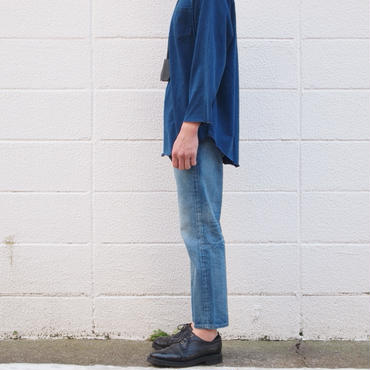 【unisex】Ordinary fits〈オーディナリーフィッツ〉 5POCKET ANKLE DENIM  (OM-P020) 3YEAR/BLUE