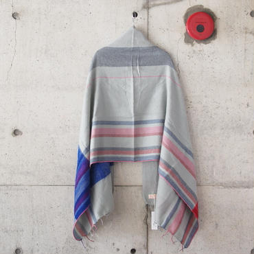 hint hint〈ヒントヒント〉  STOLE (10) GREY×RED