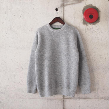 【unisex】have a good day〈ハブアグッデイ〉 SHAGGY SWEATER LT.GREY