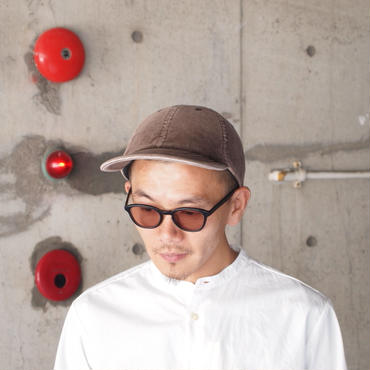 【予約】morno〈モーノ〉 CORDUROY B.B. CAP BROWN
