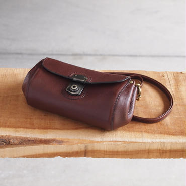 Propeller 5〈プロペラファイブ〉 BALLOON SHOULDER WALLET CHOCO